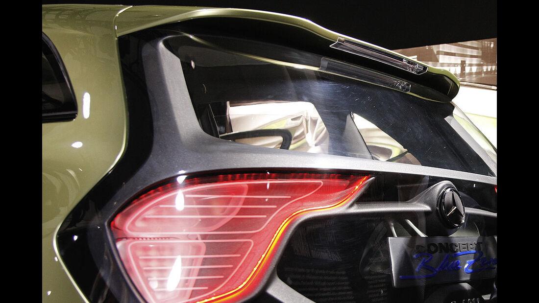 Mercedes Blue Zero Concept Detroit