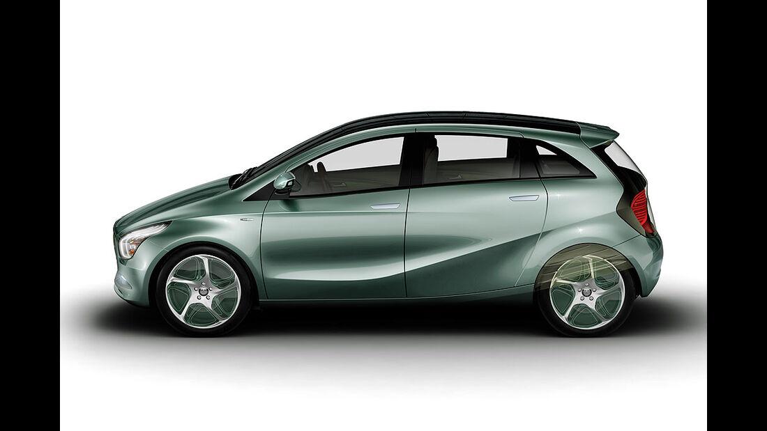 Mercedes Blue Zero F-Cell