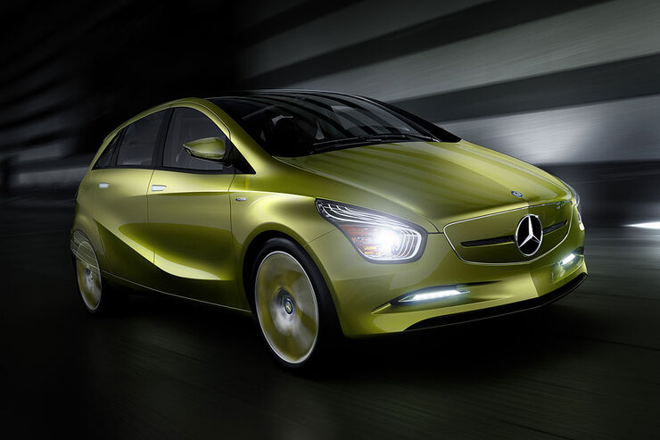 Mercedes Blue Zero