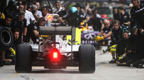 Mercedes - Boxenstopp - Formel 1 - 2015