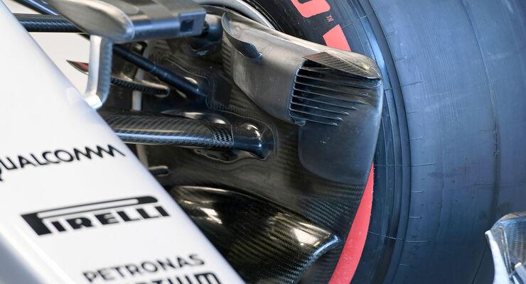 Mercedes-Bremse - GP Singapur 2016