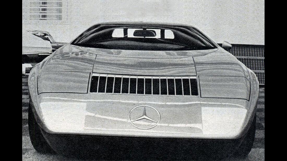 Mercedes, C 111, IAA 1969