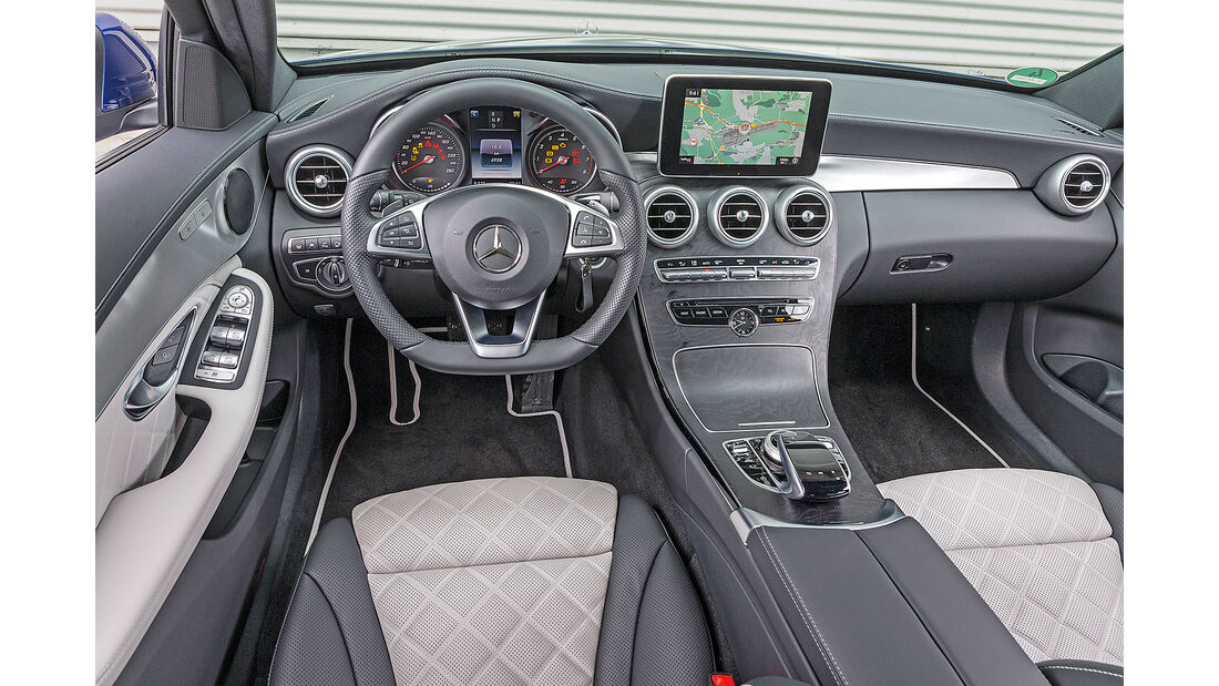 Mercedes C 160 T Innenraum