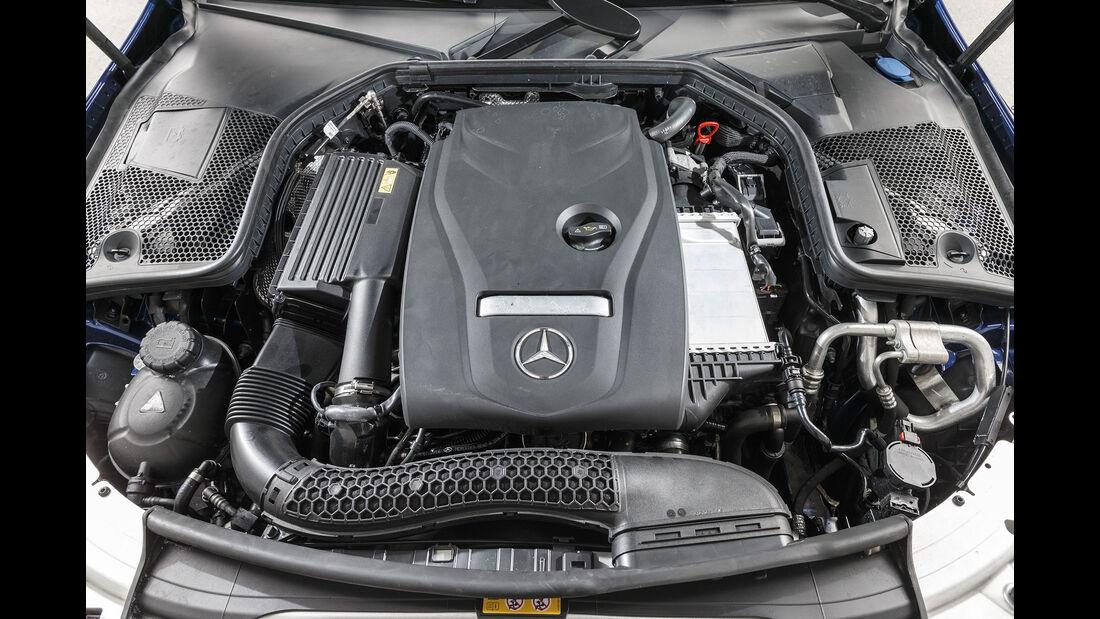 Mercedes C 160 T Motor