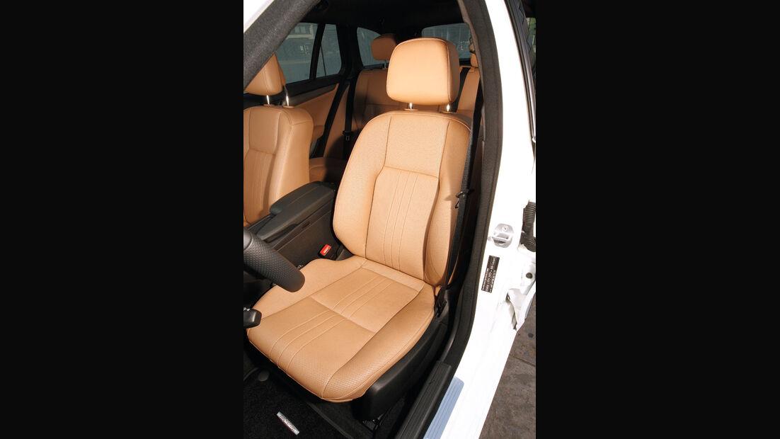 Mercedes C 180 CDI T Avantgarde, Fahrersitz