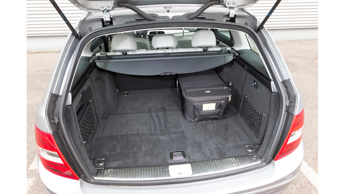 Mercedes C 180 CDI T Avantgarde, Kofferraum