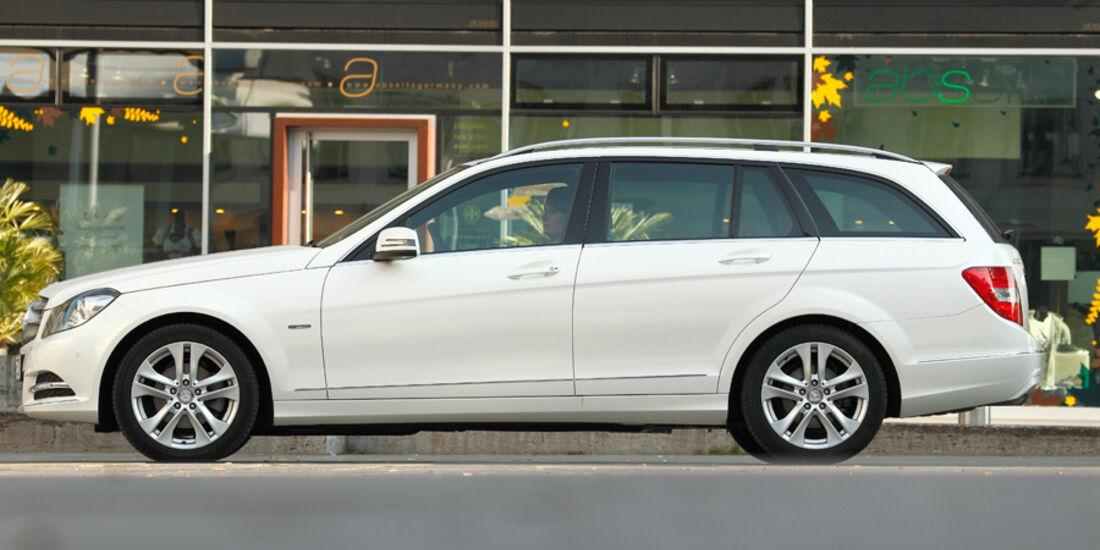 Mercedes C 180 CDI T Avantgarde, Seitenansicht