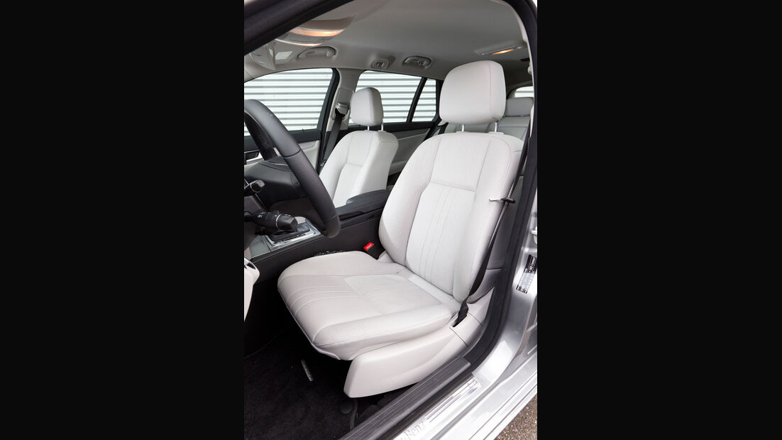 Mercedes C 180 CDI T Avantgarde, Sitze