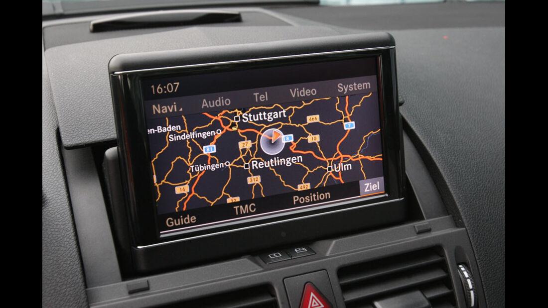 Mercedes C 180 CGI, Navigationssystem