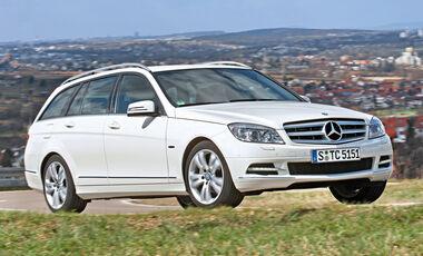 Mercedes C 180 CGI T-Modell, Frontansicht