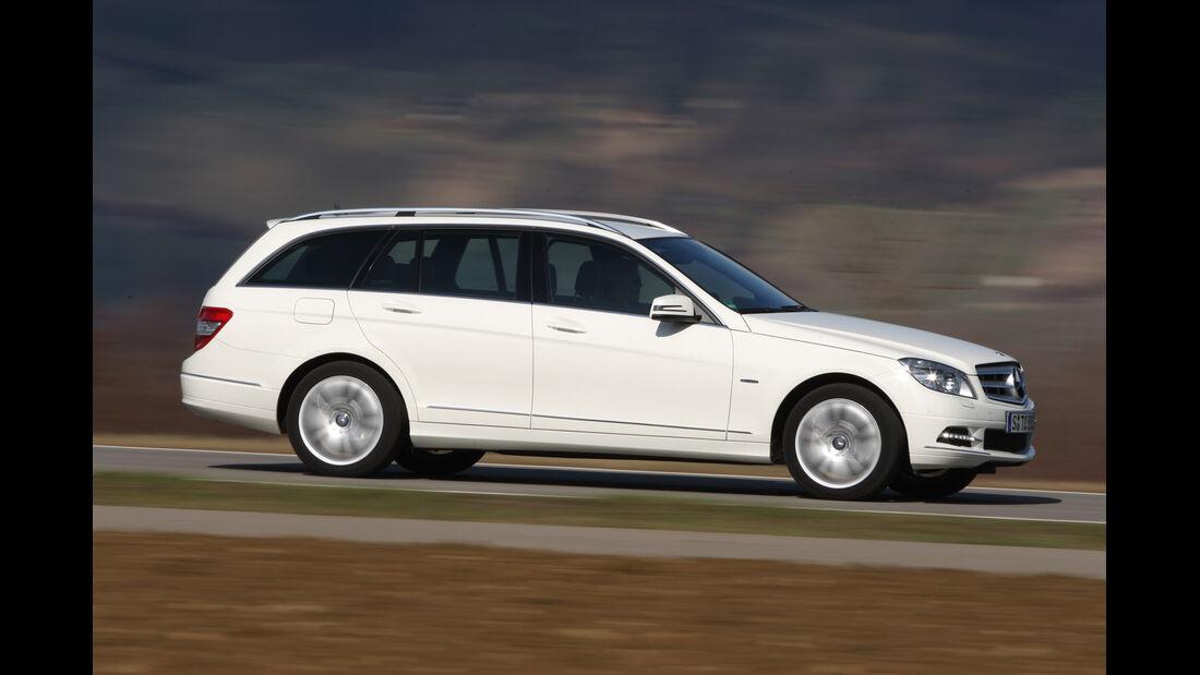 Mercedes C 180 CGI T-Modell, Seitenansicht