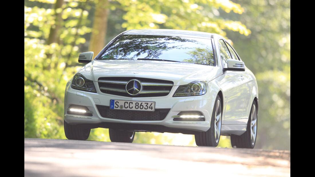 Mercedes C 180 Coupé, Frontansicht