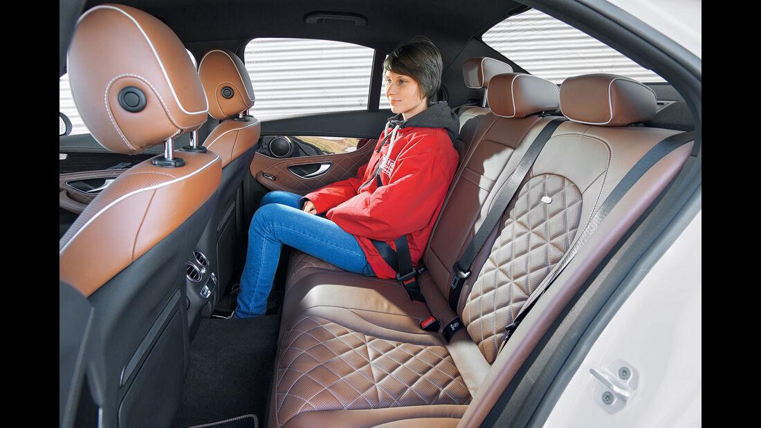 Mercedes C 180, Fondsitze