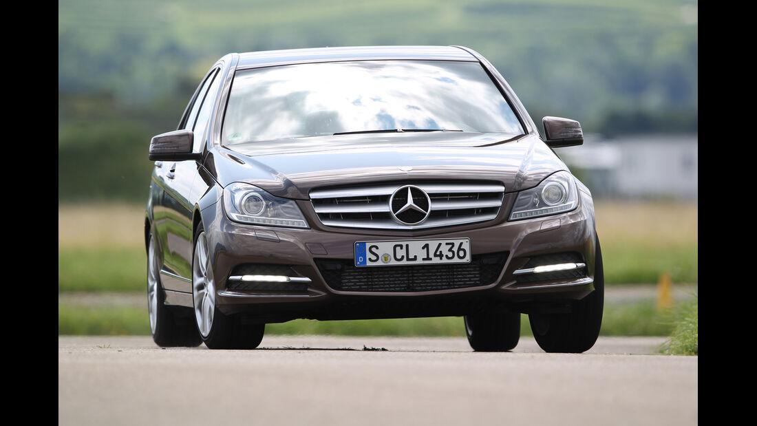 Mercedes C 180, Frontansicht