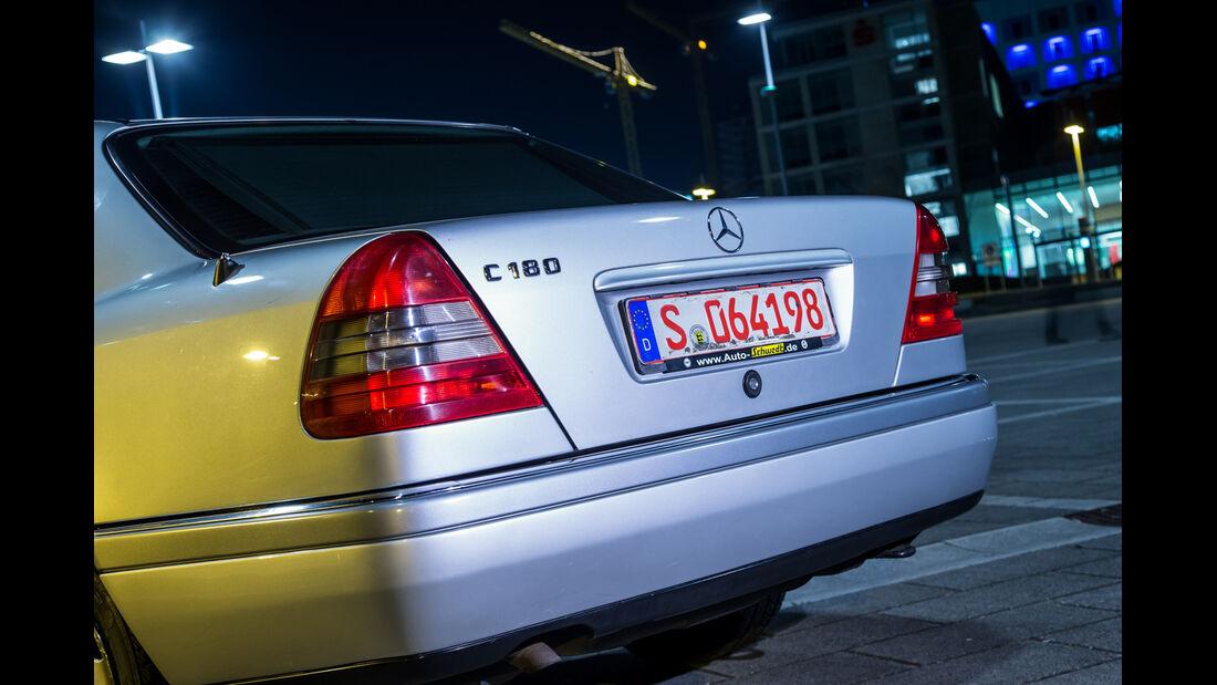 Mercedes C 180, Heck