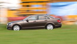 Mercedes C 180, Seitenansicht
