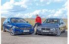 Mercedes C 180 T, BMW 330d, Michael von Maydell