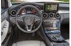 Mercedes C 180 T, Cockpit