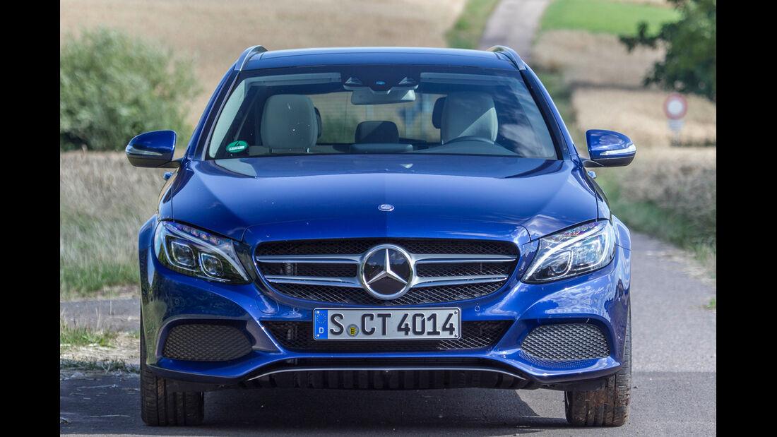 Mercedes C 180 T, Frontansicht