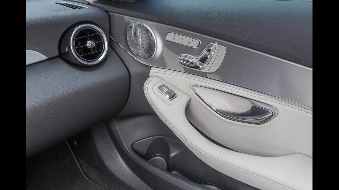 Mercedes C 180 T, Luftausströmer, Türgriff