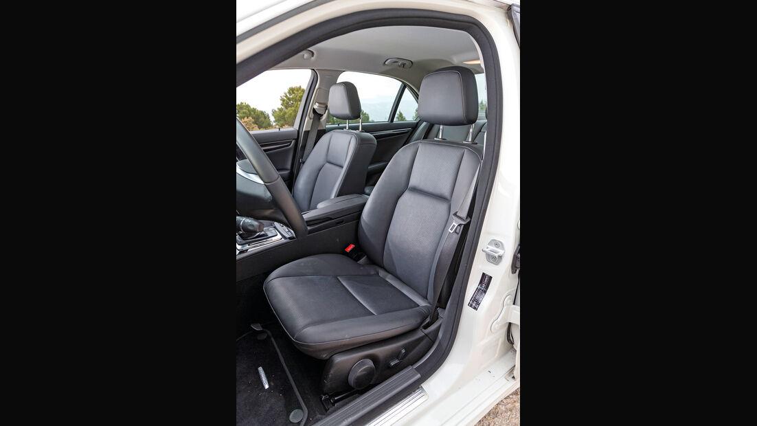Mercedes C 200 CDI, Fahrersitz