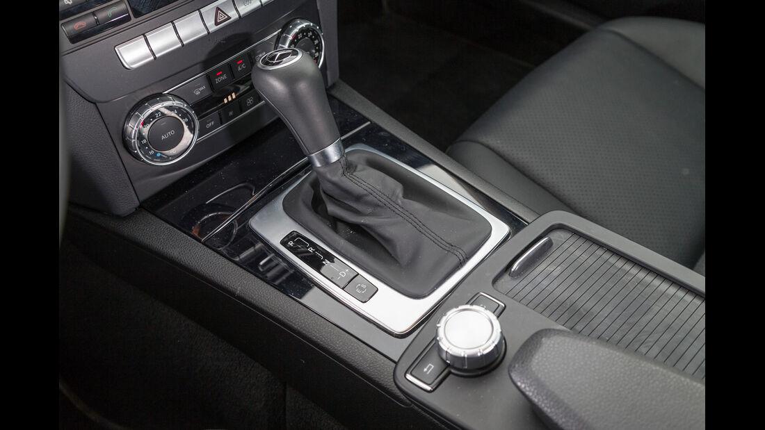 Mercedes C 200 CDI, Schalthebel, Schaltknauf