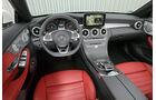 Mercedes C 200 Cabriolet, Cockpit