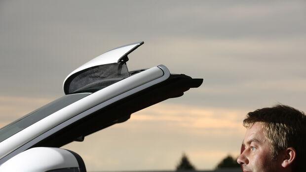 Mercedes C 200 Cabriolet, Frontscheibe