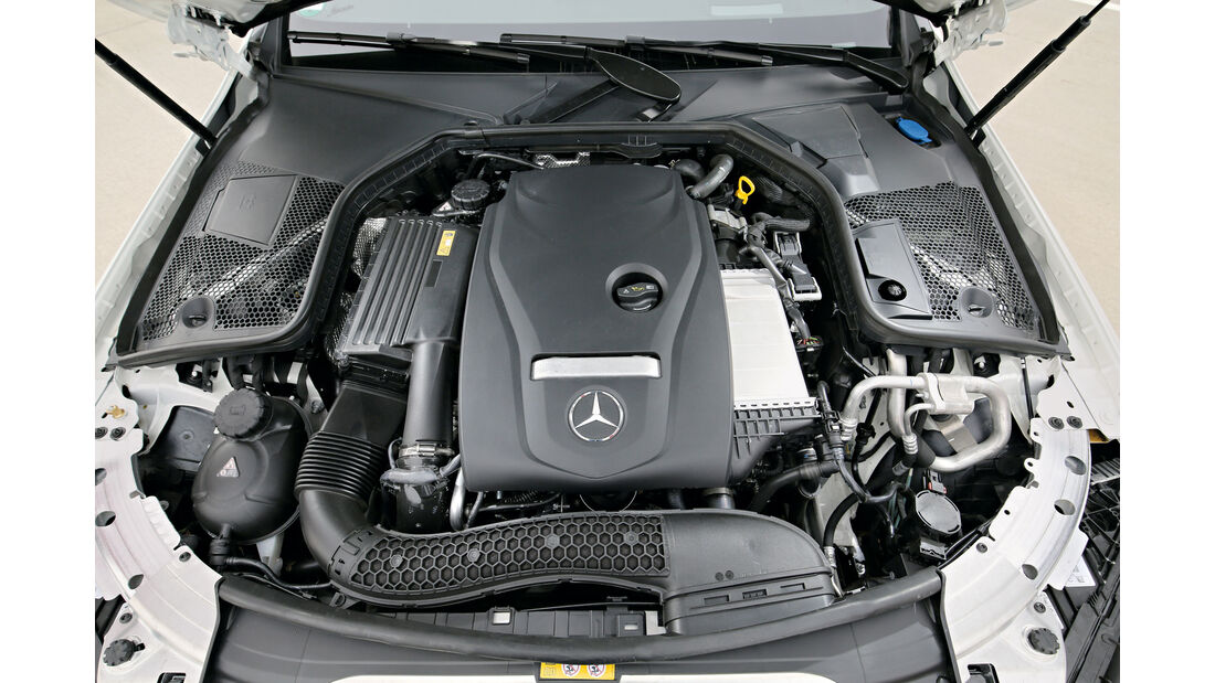 Mercedes C 200 Cabriolet, Motor