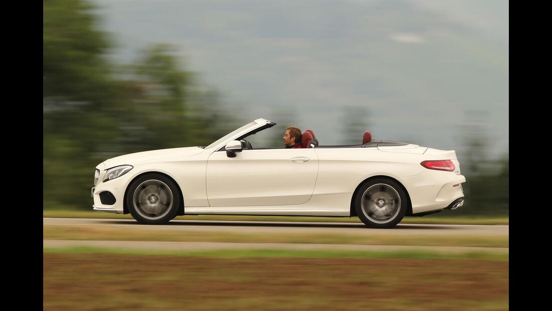 Mercedes C 200 Cabriolet, Seitenansicht