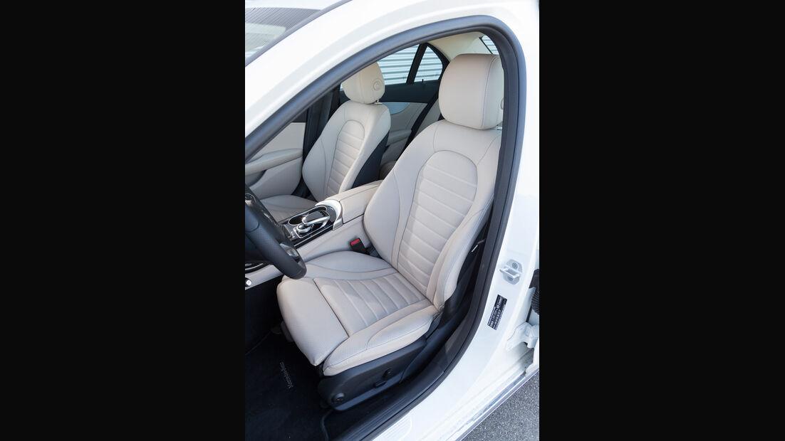Mercedes C 200, Fahrersitz