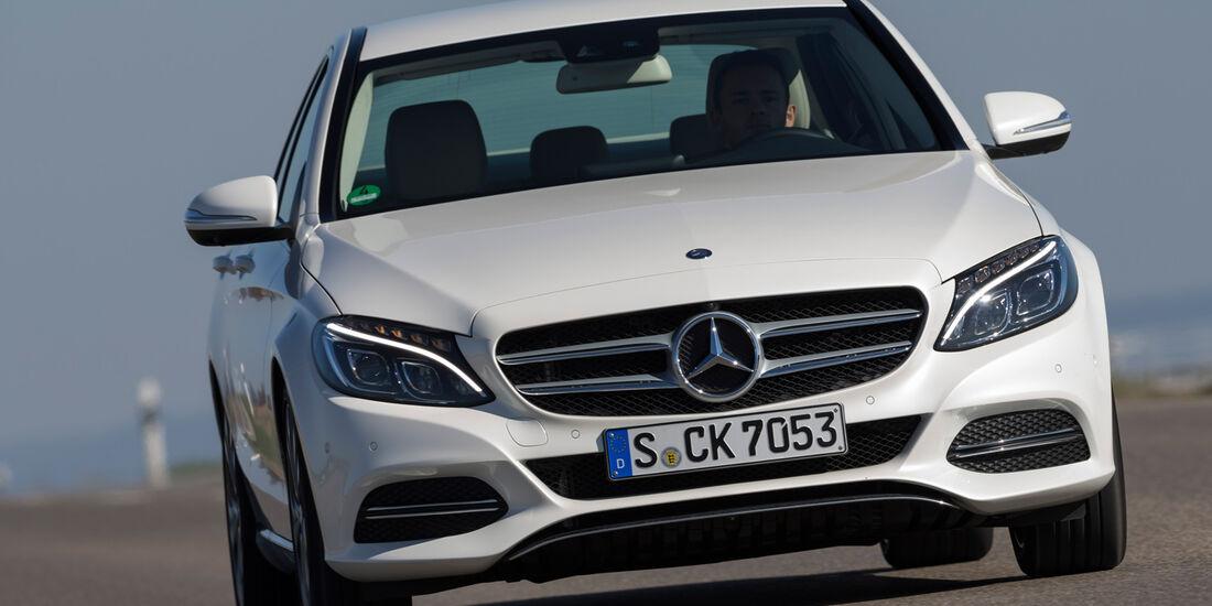 Mercedes C 200, Frontansicht