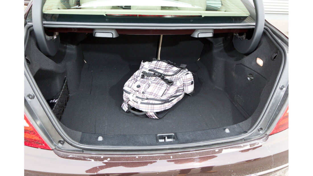 Mercedes C 200, Kofferraum