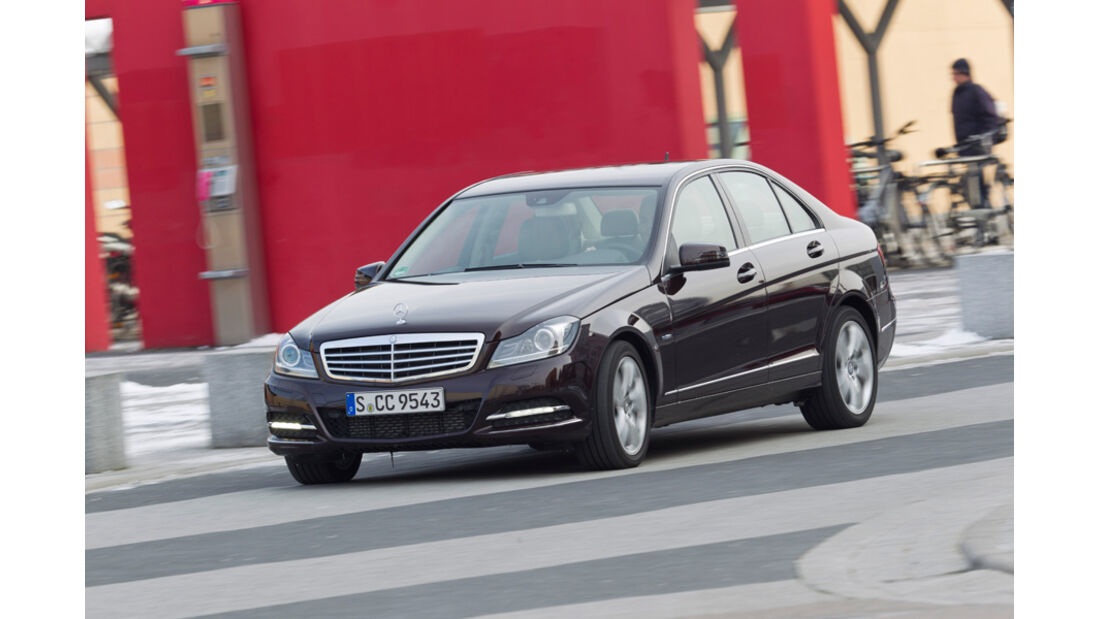 Mercedes C 200, Seitenansicht
