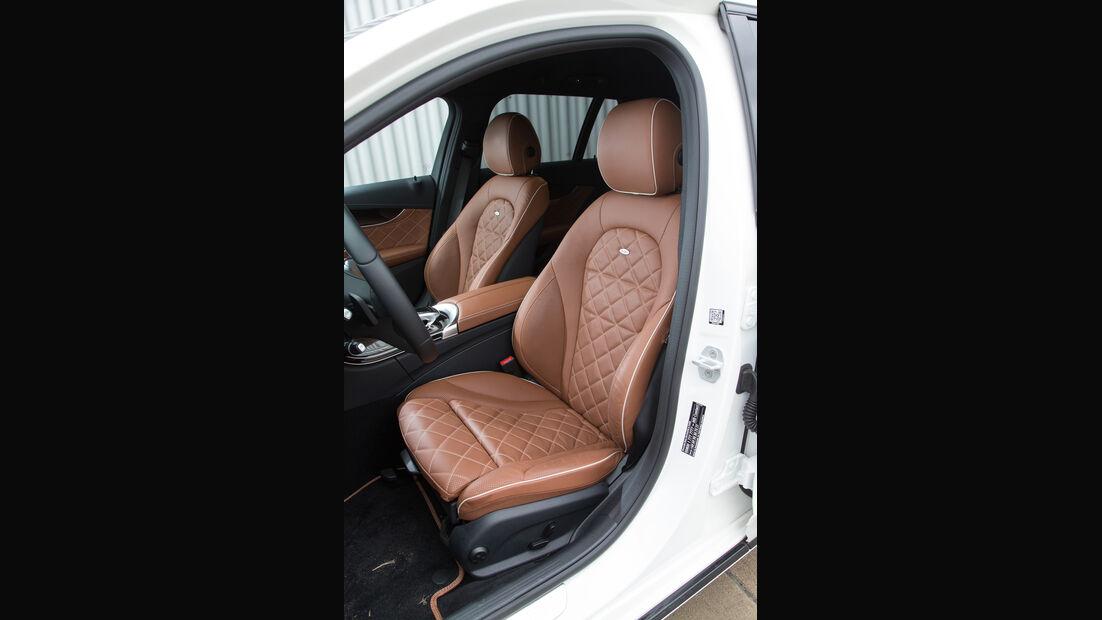Mercedes C 200 T, Fahrersitz