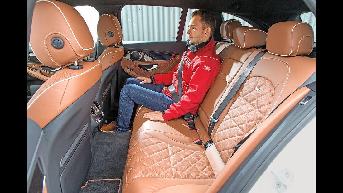 Mercedes C 200 T, Fondsitze