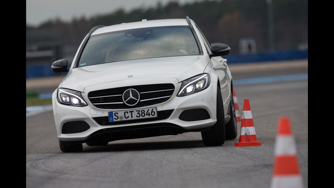 Mercedes C 200 T, Frontansicht