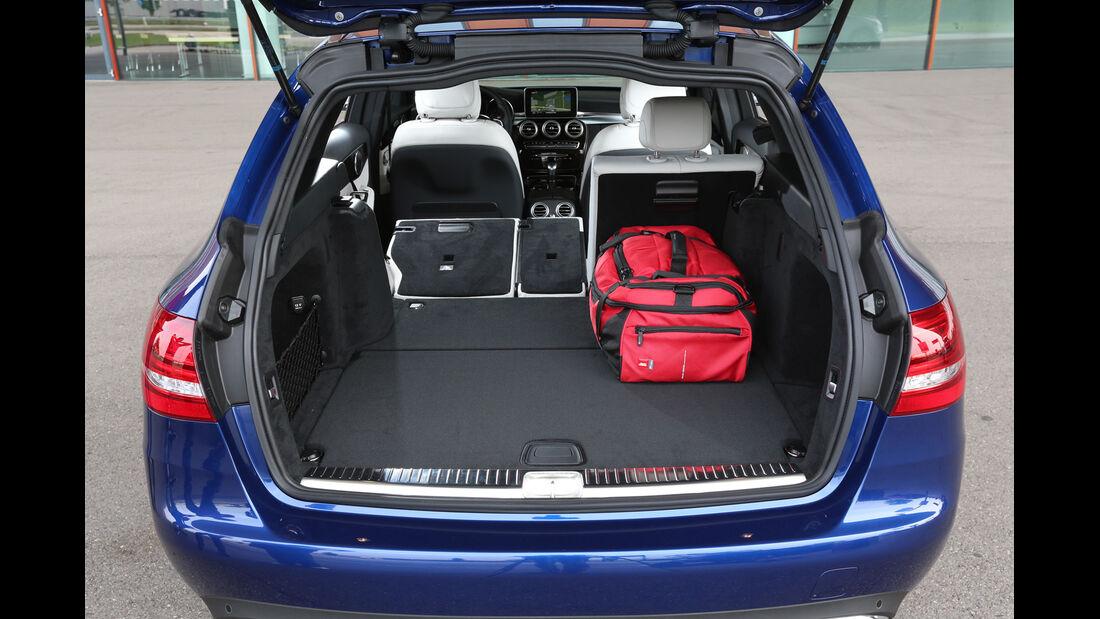 Mercedes C 200 T, Kofferraum