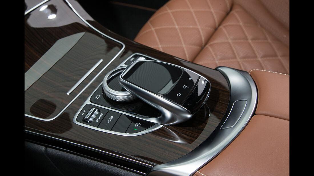 Mercedes C 200 T, Schalthebel, Bedienelement