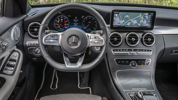 Mercedes C 200, ams_2019_25, Interieur