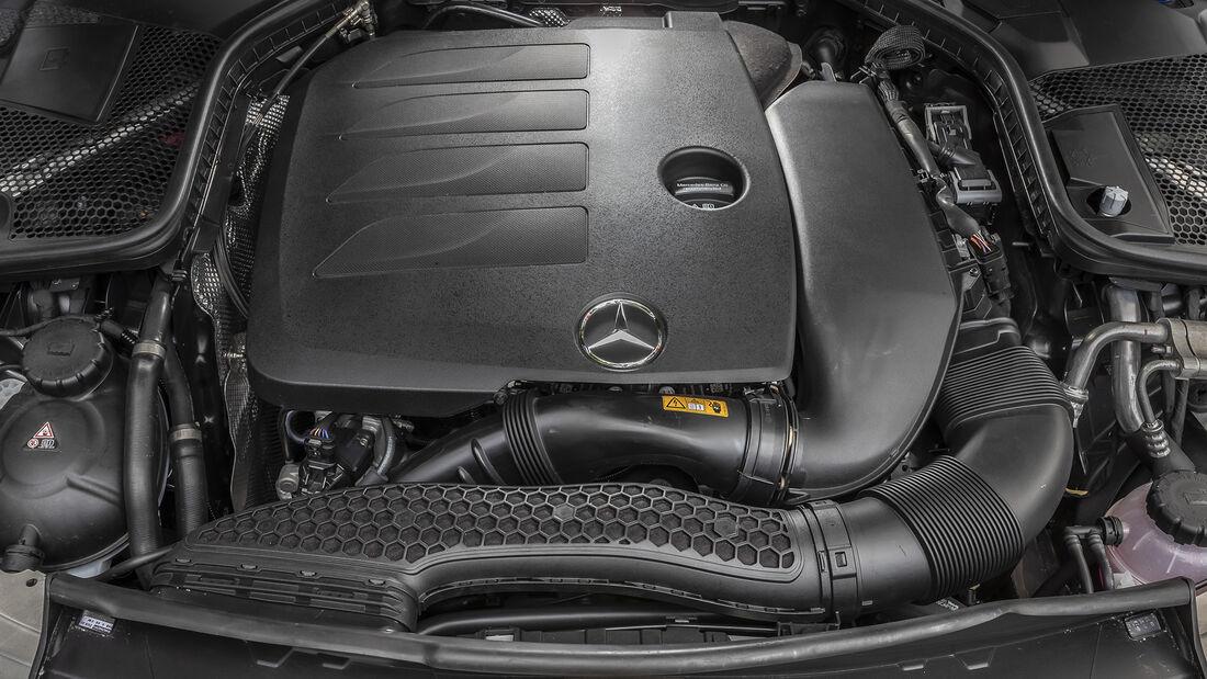 Mercedes C 200, ams_2019_25, Motor