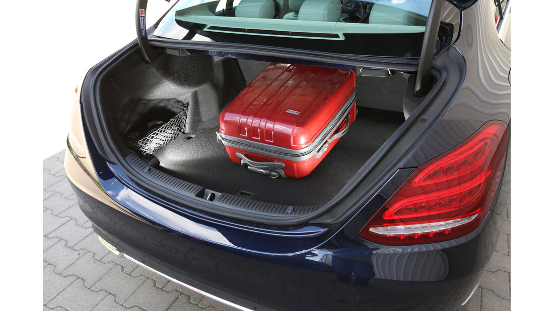 Mercedes C 220 Bluetec, Kofferraum