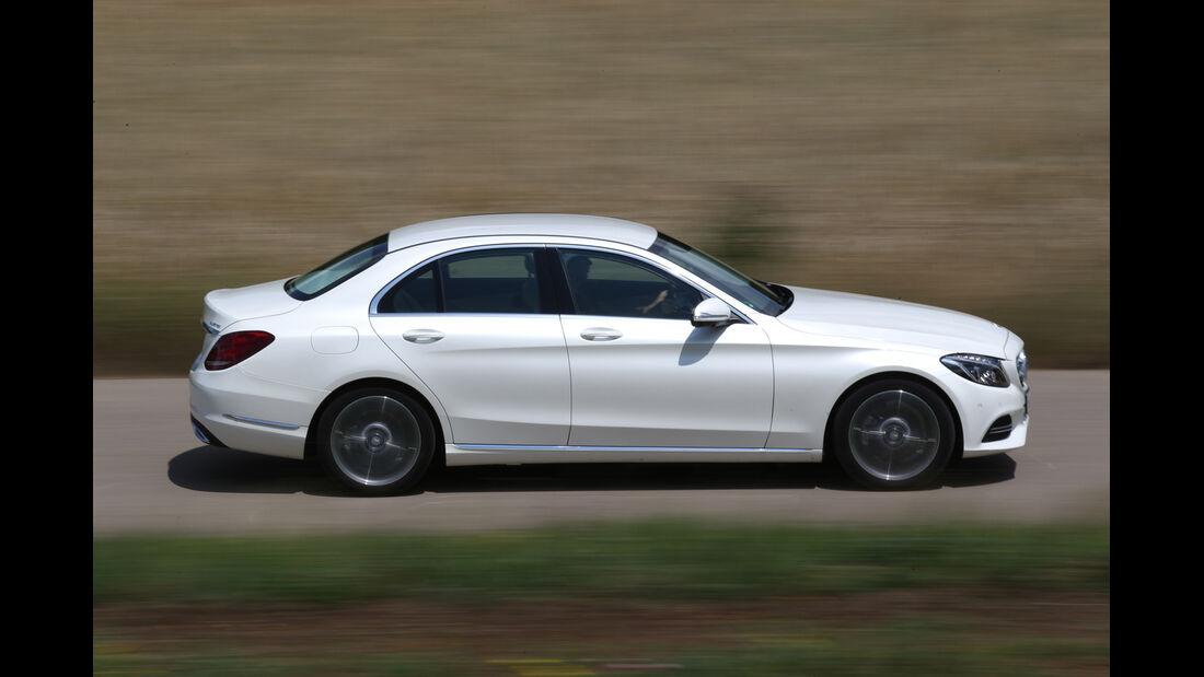 Mercedes C 220 Bluetec, Seitenansicht