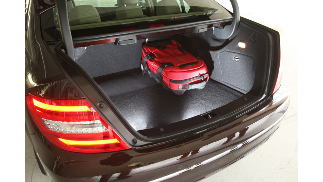 Mercedes C 220 CDI, Kofferraum