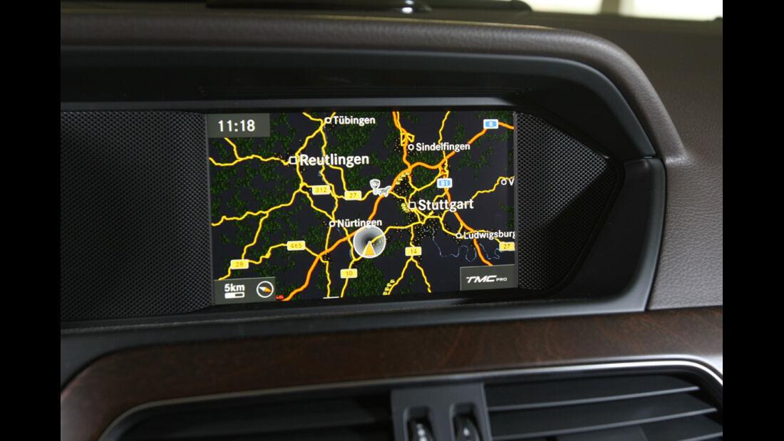 Mercedes C 220 CDI, Navigationsdisplay