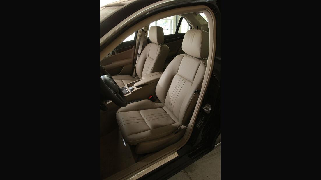 Mercedes C 220 CDI, Sitze
