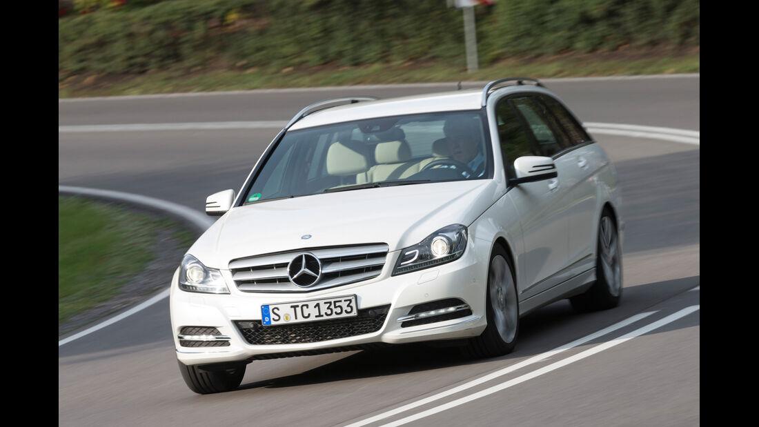 Mercedes C 220 CDI T Avantgarde, Frontansicht
