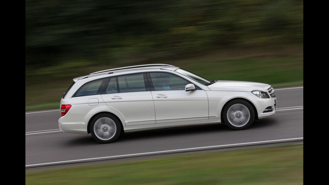 Mercedes C 220 CDI T Avantgarde, Seitenansicht