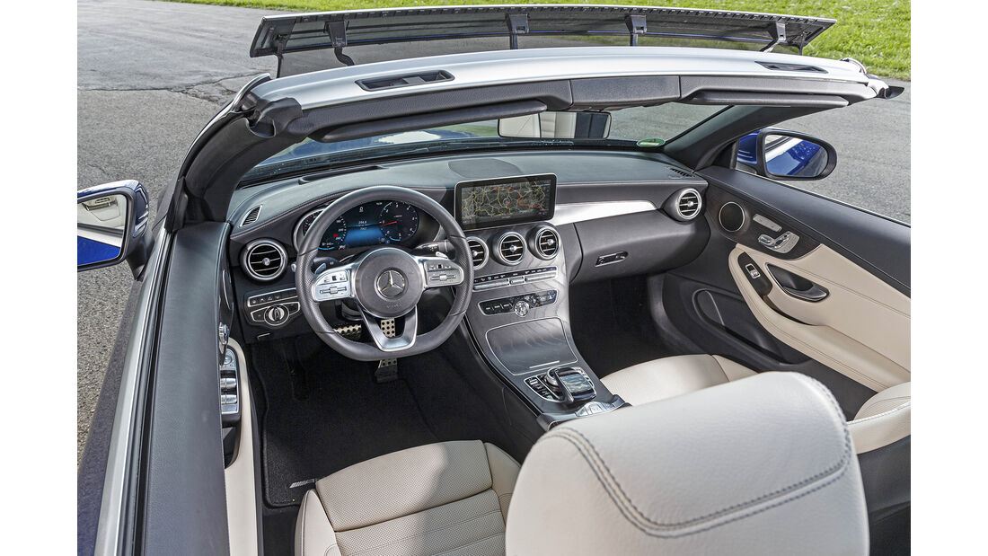 Mercedes C 220 d Cabrio, Interieur