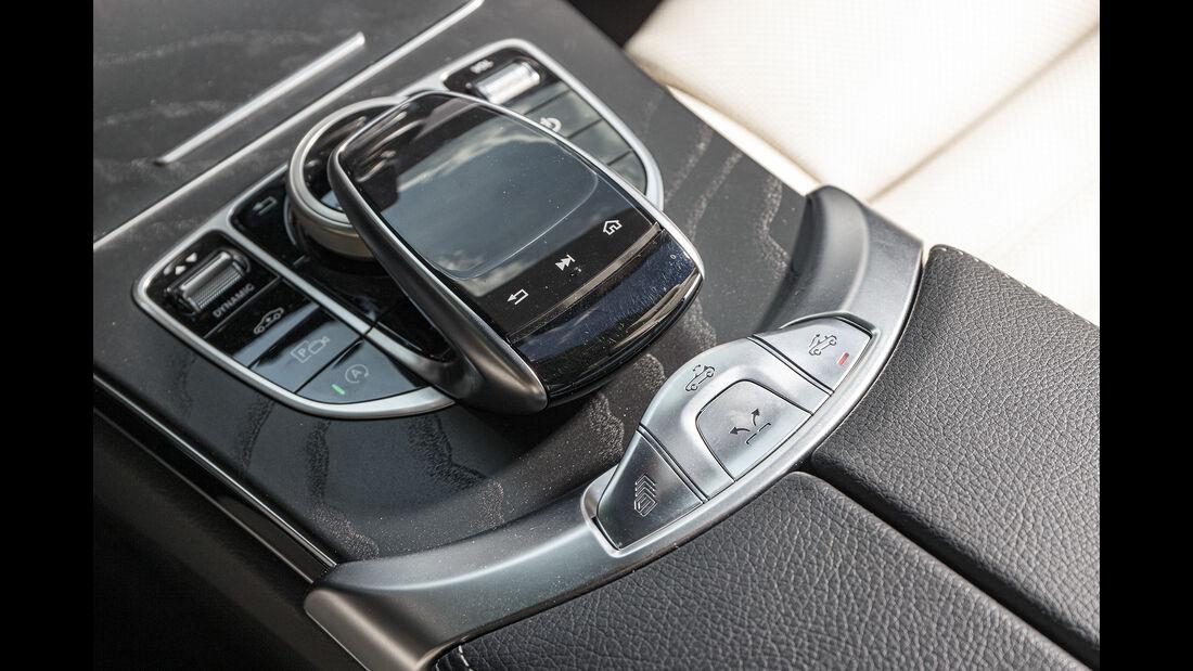 Mercedes C 220 d Cabrio, Verdeckschalter